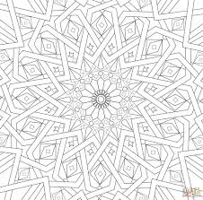 free mosaic coloring pages mosaic coloring pages free online