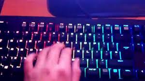 razer blackwidow chroma lights not working razer blackwidow chroma problem help youtube