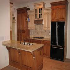 what color granite goes with honey oak cabinets blue kitchen with oak cabinets grey white appliances and stainless