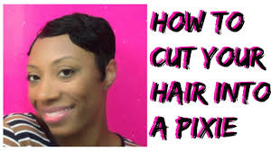 cut your own pixie haircut how to cut your own hair into a pixie cut or short cut youtube