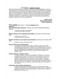 Good Resume Templates For Word Example Of Cv For Receptionist Job Resume Professional Writers