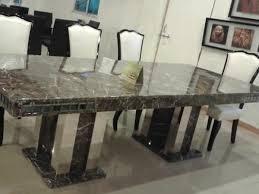 Granite Top Dining Table Set - dining set