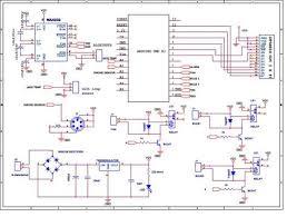 arduino based smart home automation circuit diagram arduino