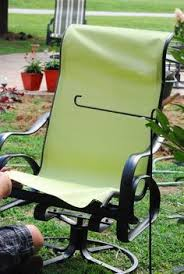Patio Furniture Mesh Fabric Recover Sling Back Chairs We Just Bought 4 Of These For 20 And