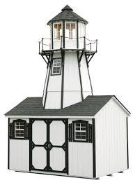 lighthouse playhouses north country shedsnorth country sheds