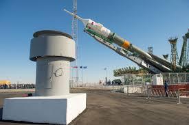 file soyuz tma 10m spacecraft at the baikonur cosmodrome launch