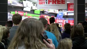 black friday shoppers hit the stores on thanksgiving day news 24