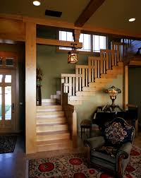 interior colors for craftsman style homes our stairway inspired by greene and greene s blacker house