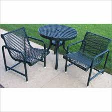 Metal Mesh Patio Table Steel Mesh Patio Furniture Regarding Motivate All Home Improve