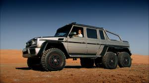 six wheel mercedes suv richard hammond tests a 6x6 suv in abu dhabi top gear series 21
