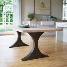 Dining Room Wood Tables by Dining Tables With Metal Legs Table Legs Pinterest Dining