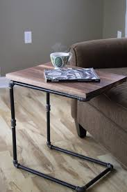 under couch laptop table walnut you join me reclaimed wood side table laptop desk