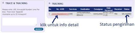 Jne Tracking Cara Trace Tracking Nomer Resi Jne Sabun Beras Mutiara 3 In 1