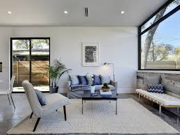 Living Room No Rugs Gorgeous Airy Mid Century Modern Living Rooms Living Room