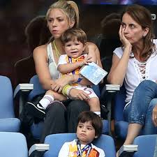famil shakira and her family at the euro cup 2016 photos popsugar latina