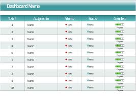 project task status dashboard template sales dashboard