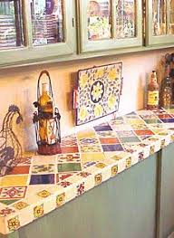 Tile For Kitchen Countertops by Best 20 Mexican Tile Kitchen Ideas On Pinterest Hacienda