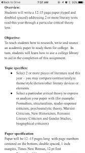how to write a literary criticism paper learning library skills is still important work in progress research paper image png