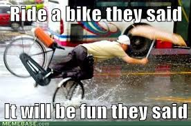 Bike Crash Meme - don t worry the fenders will keep you dry giggles chuckles