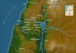 the sea map villages of galilee