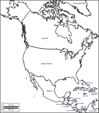 america outline map printable america free maps free blank maps free outline maps free