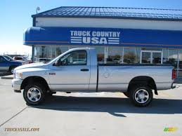 2008 dodge ram 2500 slt regular cab 4x4 in bright silver metallic