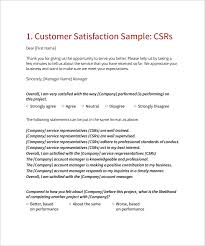 customer satisfaction letter sample 75 images customer