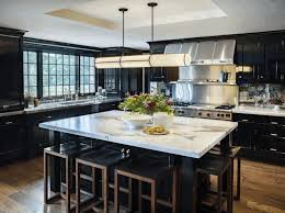 Kitchen Island Lighting Rustic - black kitchen cabinets with white countertops under cabinet