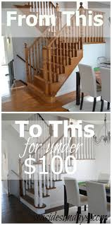 how to refinish and modernize your oak stairs refinish hardwood