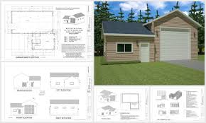 apartments garage apartment plan bungalow cottage craftsman