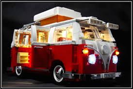 volkswagen lego lighting kit for volkswagen t1 camper van