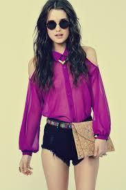 shoulder cut out blouse j adore fashion diy cut out shoulder blouse