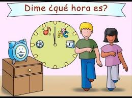 84 best hora images on pinterest teaching spanish and