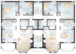 neoclassical home plans family house plans multi family house plans duplex plans triplex