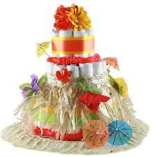 Tropical Themed Cake - buy tropical diaper cake sweetaprils com