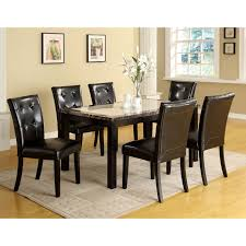 Cherry Dining Room Tables Carmine 7 Piece Dining Table Set Hayneedle