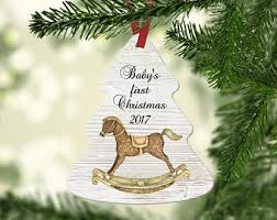 and groom 2017 tree ornament bridal shower
