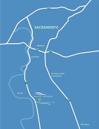 Sacramento Light Rail Map Delta Shores