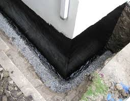 basement wall waterproofing continued