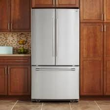Counter Depth Stainless Steel Refrigerator French Door - samsung rf22kredbsg 36 inch wide 22 cu ft counter depth 4 door