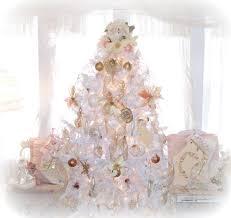 christmas tree decorations shabby chic decorating