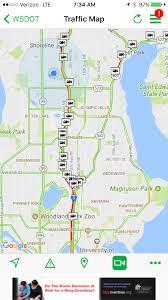 Wsdot Seattle Traffic Map The Wsdot Blog Washington State Department Of Transportation