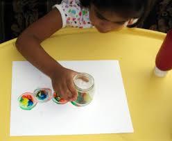 spin art caterpillar putti u0027s world kids activities