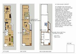 narrow row house house plan exquisite brownstone row house floor plans new at