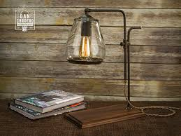 Edison Bulb Table L Loft Retro Wood E27 Edison Table L Cafe Home Bar
