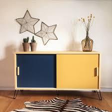 mobilier vintage scandinave enfilade esprit scandinave et vintage mid century modern