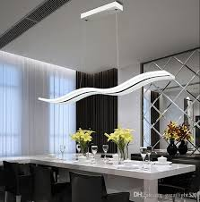 newest wave chandelier led pendant lights living room simple s
