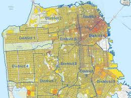san francisco land use map how to fix san francisco s housing market market urbanism