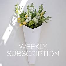 flower subscription weekly on going subscription bloom social
