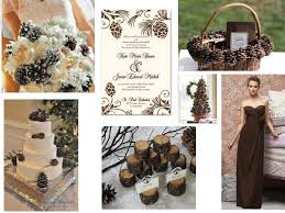 Pine Cone Wedding Table Decorations Pine Cone Wedding Pantone Wedding Styleboard The Dessy Group
